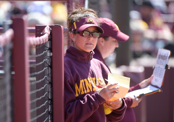 Minnesota softball coach Jamie Trachsel has the Gophers into the NCAA tournament in her first season at the helm.