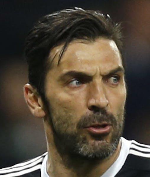 Keeper Gianluigi Buffon splitting with Juventus.