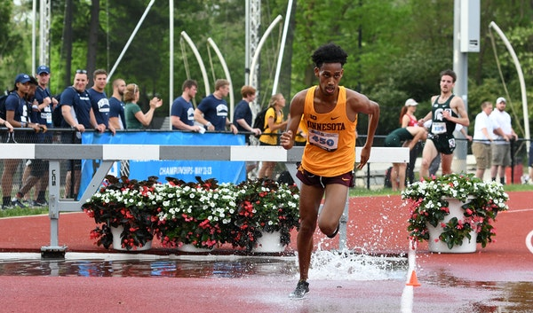 Obsa Ali will compete in the 3,000-meter steeplechase on Wednesday.