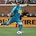 Loons goalkeeper Bobby Shuttleworth