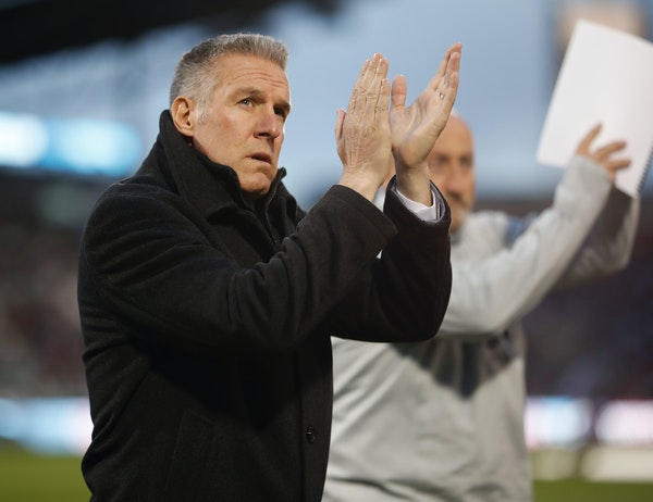 Sporting Kansas City's Peter Vermes has been with the franchise since 2000, first as a player, then as an adminstrator and now as coach.