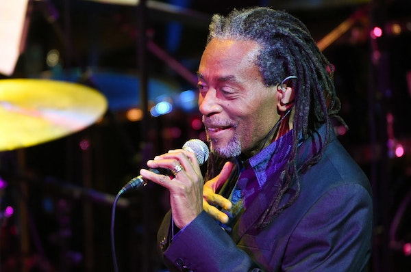 """Bobby McFerrin on improvisation: """"It's just a matter of opening up your mouth and singing. You just keep going."""""""