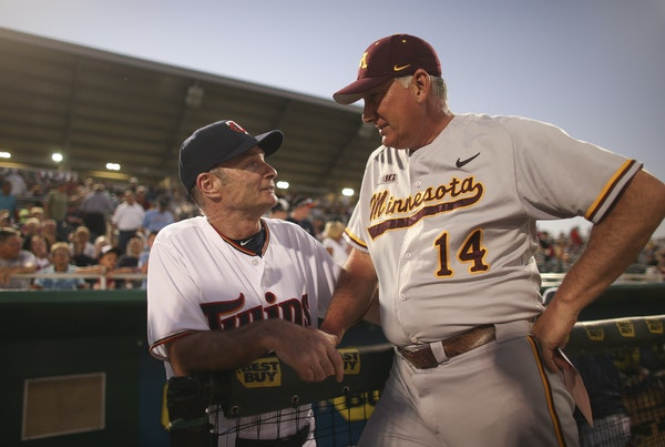 During his first spring training as Twins manager in 2015, Paul Molitor held an exhibition against John Anderson and the Gophers baseball team in Fort