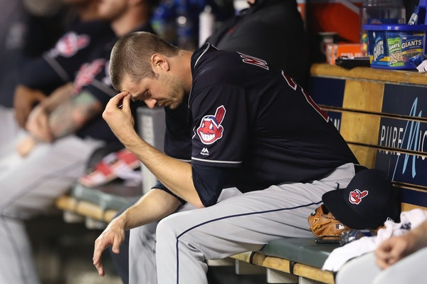 Cleveland Indians relief pitcher Andrew Miller has hit a bit of a rough patch over his last few appearances.