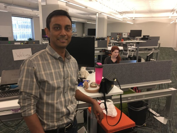 CEO Mynul Khan of Minneapolis-based Field Nation and other fast-growing software firms can't find enough local talent.