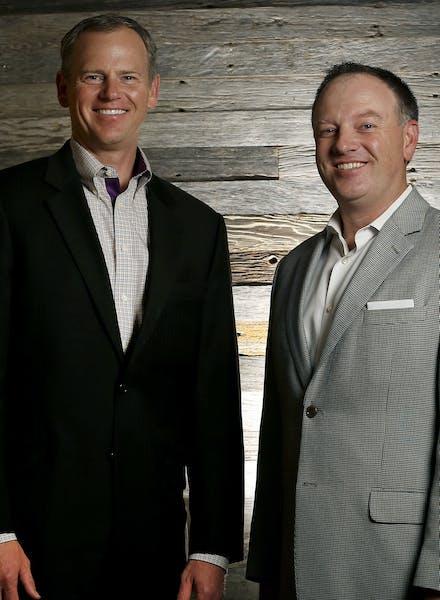 Winnebago Industries CFO Bryan Hughes and CEO Mike Happe.