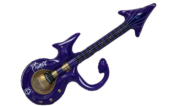The first 10,000 Twins patrons Friday receive the inflatable guitar.