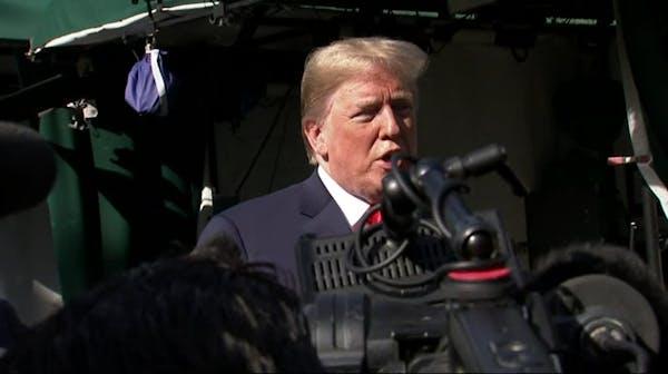 Trump says FBI report 'totally' exonerates him