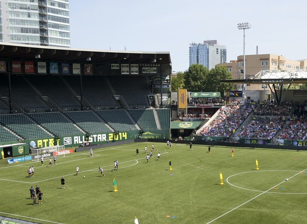 Providence Park in Portland is nearly 100 years old, but it's the best place to watch a Major League Soccer match because it is so unique. Thousands
