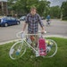 """""""We don't want another ghost bike,"""" said Tom Basgen, one of the St. Paul residents who's organizing for safer bike lanes on Summit Avenue. Bas"""