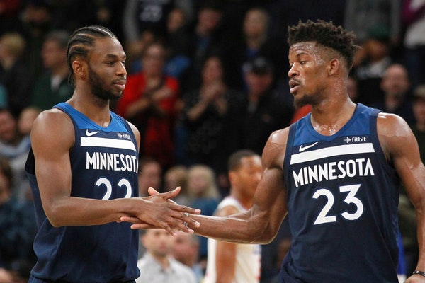 Report: Jimmy Butler 'uncertain about playing with Andrew Wiggins'
