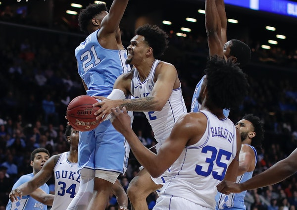 Gary Trent Jr. earned a reputation as a three-point ace at Duke, but the son of a former NBA power forward also showed he can slash to the basket when