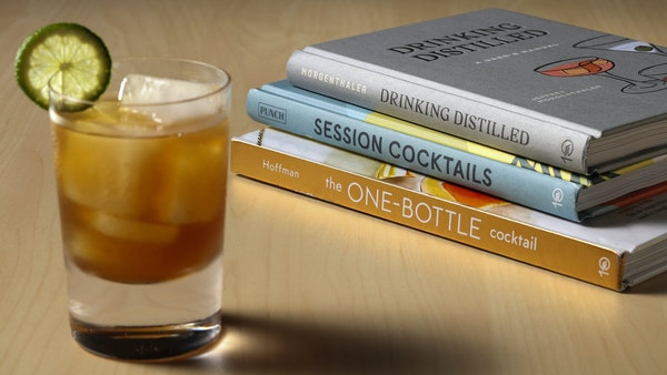 """A lower-proof margarita is among the drinks in """"Session Cocktails."""""""