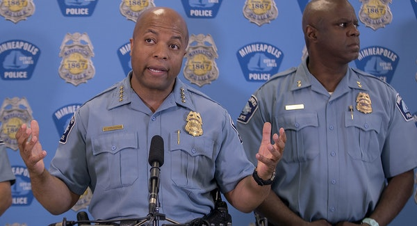Minneapolis Police Chief Medaria Arradondo said Thursday he discontinued stings targeting low-level marijuana sales at the request of Mayor Jacob Frey