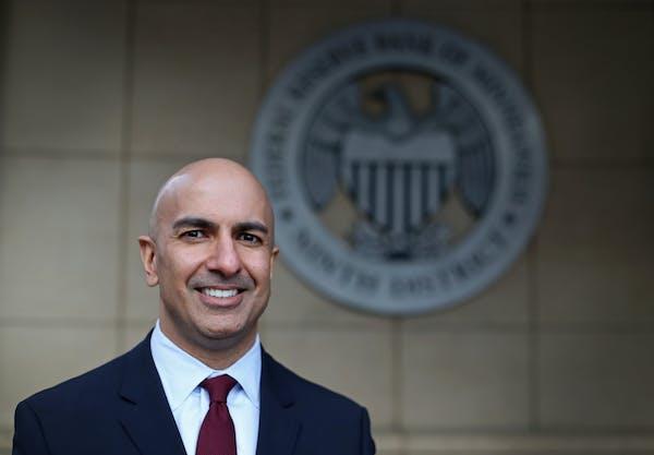 President of the Federal Reserve Bank of Minneapolis Neel Kashkari (SHARI L. GROSS/Star Tribune file photo)