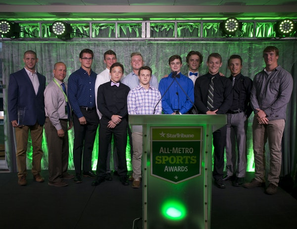 The St. Michael-Albertville wrestling team was named the Boys Team of the Year.