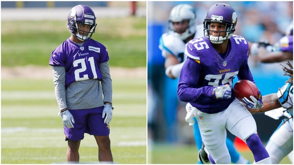 Hughes could endanger Sherels' roster spot with Vikings