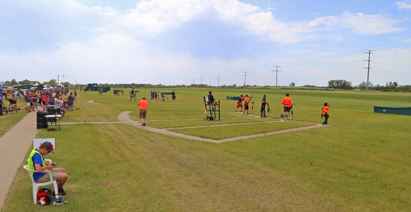 About 1,000 Minnesota prep trapshooters gathered in Alexandria, Minn., on Thursday, one day of nine days of competition during which more than 1 milli