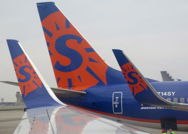 Sun Country will begin flying more routes that are point-to-point in other cities. It is adding flights in St. Louis and Madison and building them up