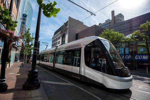 The Riverview Corridor streetcar will look a lot like the Kansas City streetcar.