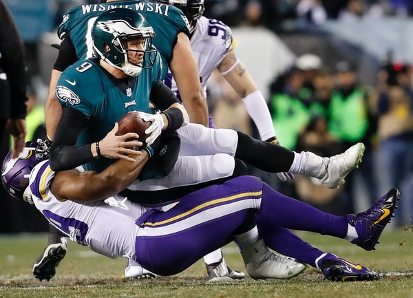 Vikings defensive end Danielle Hunter's mega five-year extension worth $72 million officially kicks in 2019, following the final year of his rookie