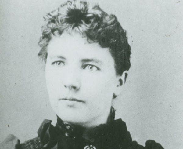 Laura Ingalls Wilder at age 27.