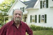 Poet Donald Hall, who died Saturday at age 89 at his home in Wilmot, N.H., found a universe of meaning in the apples, ox carts and ordinary folk of hi
