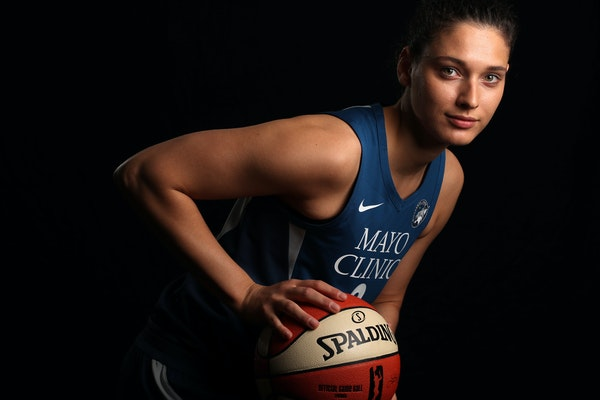 Lynx forward Cecilia Zandalasini's minutes have risen dramatically of late because of Seimone Augustus' hamstring injury, and she's scored in doub