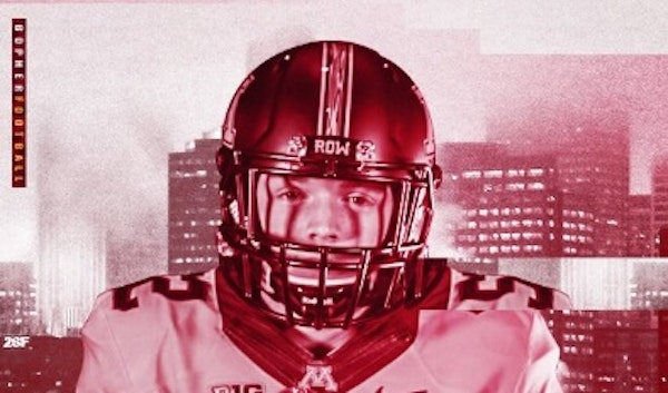 Kicker Camden Lewis committed to be a member of the Gophers' recruiting class of 2019 on Sunday.
