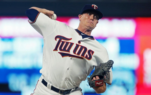 Kyle Gibson went eight strong innings Thursday night.