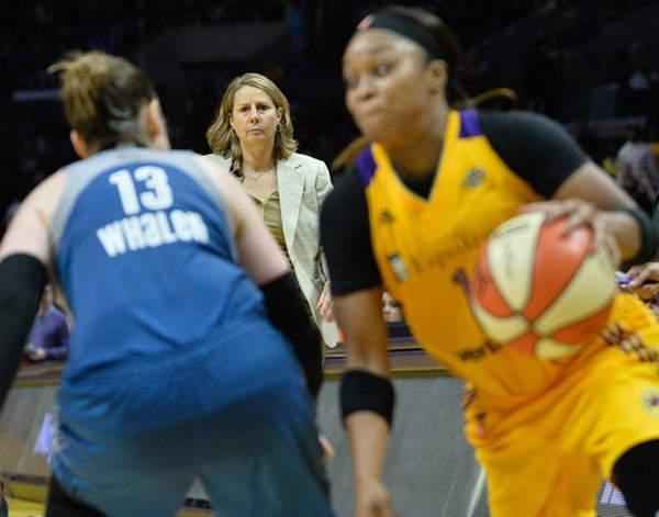 """Coach Cheryl Reeve would like the Lynx's entire starting five named to the WNBA All-Star Game, to be held at Target Center on July 28. """"It took us a l"""