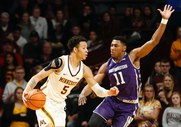 Sophomore guard Amir Coffey, the Gophers' third-leading scorer at 14 points per game, missed his third consecutive game against Nebraska on Tuesday.
