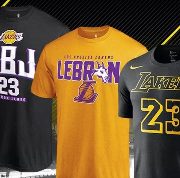 LeBron James' arrival in Los Angeles has T-shirts and jerseys flying off NBA Store shelves. It also has knocked the Timberwolves' hopes for an NBA