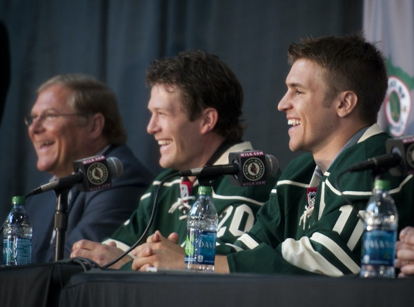 July 9, 2012, was a landmark day in Wild history, when owner Craig Leipold introduced his two free-agent catches: Ryan Suter and Zach Parise.