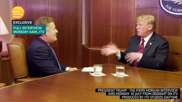 Trump discusses queen meeting, NATO, 2020 race