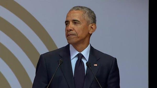 Obama: 'Look around. Strongman politics are ascendant'