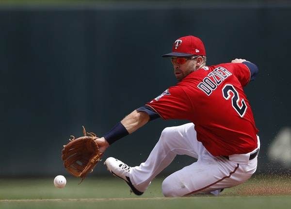 Brian Dozier made a play against the Rays last week.