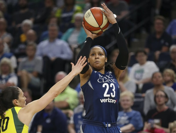 Maya Moore is one of three Lynx players named to the WNBA All-Star Game.