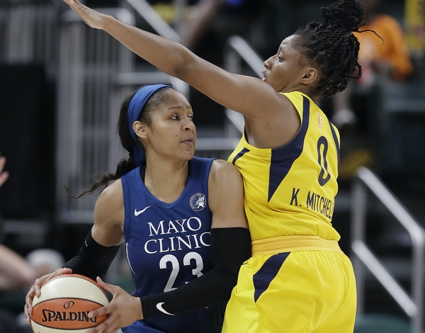 Maya Moore is averaging a team-high 19 points per game for the Lynx, who open a three-game homestand today.