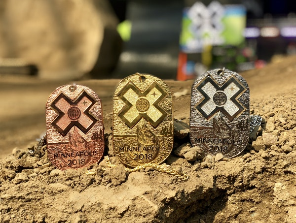 The X Games give a nod to Minneapolis with medals that capture the essence of the host city. (ESPN)