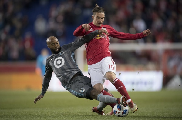 Ben Solomon • Star Tribune Collen Warner of Minnesota United is now starting after spending much of his time previously on the bench.