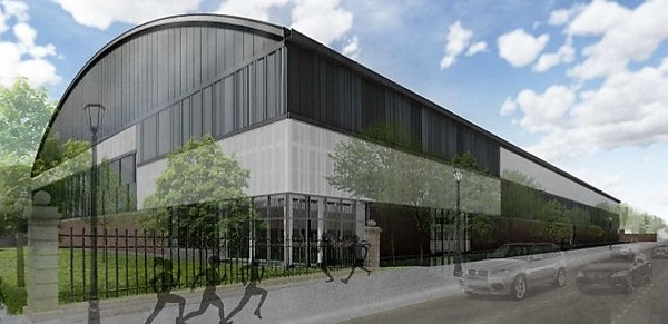 U's Field House will get a new exterior, new track and indoor turf