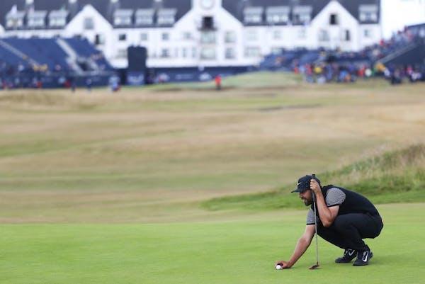 Follow Erik van Rooyen hole-by-hole during Sunday's British Open final round