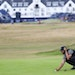 Erik Van Rooyen, of South Africa, during a practice round for the 147th British Open Golf championships in Carnoustie, Scotland, Tuesday, July 17, 201