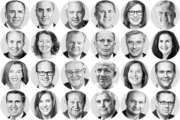 Which Minnesota bosses were the highest paid this past year?