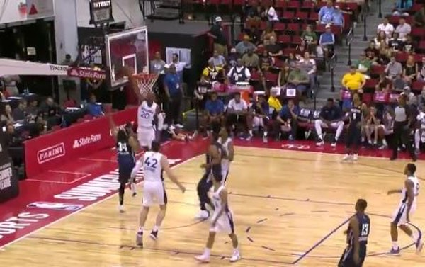 Wolves first-round pick Okogie off to a great defensive start