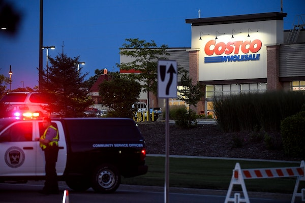 Police are responding to an active situation at the Costco in Burnsville on Wednesday.
