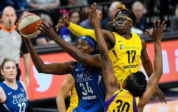 Lynx center Sylvia Fowles is averaging 17.3 points and Maya Moore 18.9, but the other starters are scoring fewer points this year.