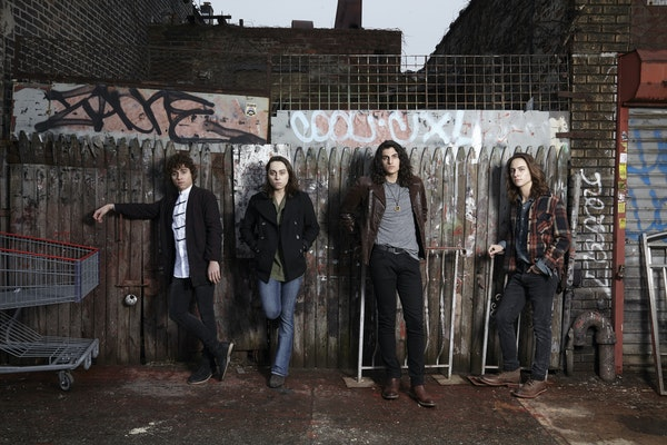 Greta Van Fleet: Josh Kiszka (vocals), Jake Kiszka (guitars), Danny Wagner (drums), Sam Kiszka (bass/keyboards)