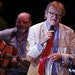 """Garrison Keillor, pictured here during a live broadcast of """"A Prairie Home Companion"""" at the State Theatre in Minneapolis in May 2016, praised the"""